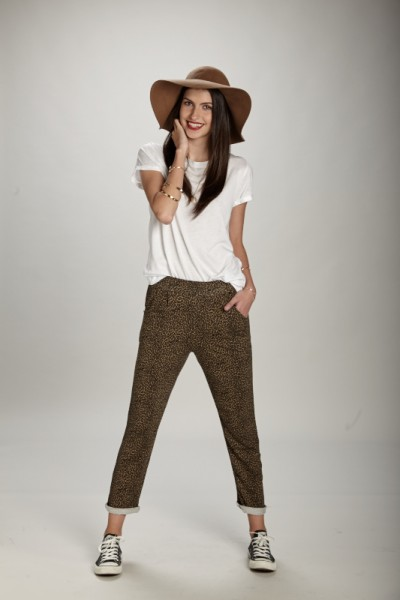 Print animal Trousers / ANTES 34,95€