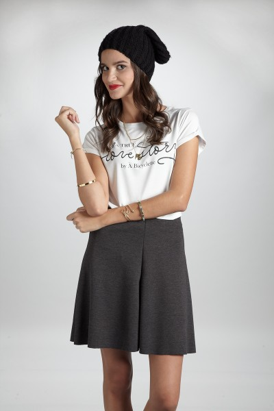 Grey Skirt / FALDA